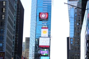 Times Square Weather by TheBuggynater