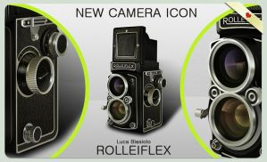 Rolleiflex Camera Icon by bisiobisio