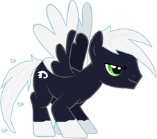 Danny Phantom Pony by zX-ShadowLugia111-Xz