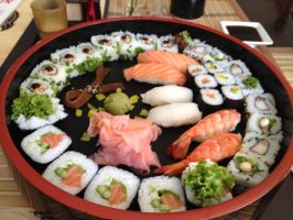 and morrrrrrrrre sushi by martulka