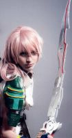 Lightning Final Fantasy 13 Cosplay by ShiroDance