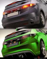 Honda Civic Startrek Project 3 by iacoski