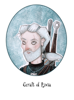 Geralt of Rivia by loysa