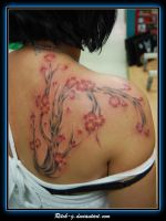 Freehand Cherry Blossom Tree by ritch-g