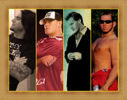 Guys Of WWE by LetyVk
