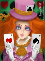 mad hatter girl by He-de
