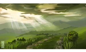 Hills of the Shire by IamExcessum