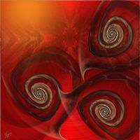 Red Snails in The Sunset by GypsyH