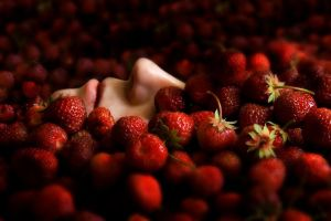 Strawberries II by Borodox