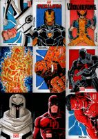 Marvel NOW Sketch Cards Set 3 by wardogs101