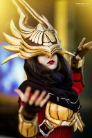 Justicar Syndra by KitaiNoCosplay