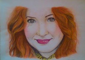 Amy Pond ( Karen Gillan) by AmyPond11