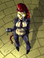 Crimson Viper Fan Art by MistressMiel