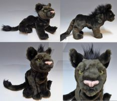 Custom Floppy Feral Shadow by WhittyKitty