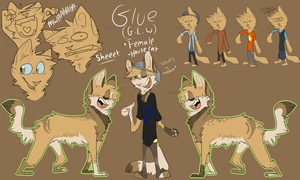 Glue Reference sheet '13 by bedheadd