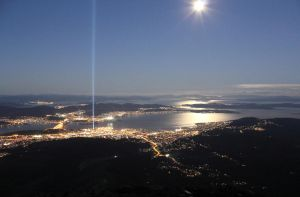 Spectra - Tasmania (from the mountain) by TheNicklesPickles