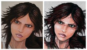 Lara - the face by DavorIvanec