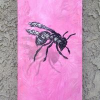 bees on boards by able03