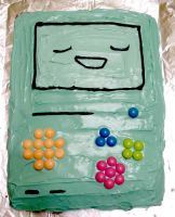 BMO Cake! by foxtopus-jones