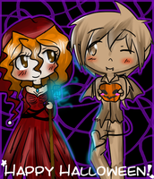 Happy Halloween~! by Steampunk-Assassin