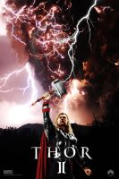 Thor 2 movie poster by DComp