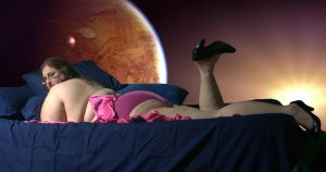 Space Bed 3 by geeegnome