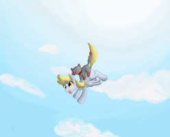 Derpy and Loco -Request- by Zag91
