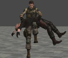 Piers breaks the Wesker by Epzaos