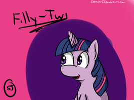 Filly twilight. by MrNer0