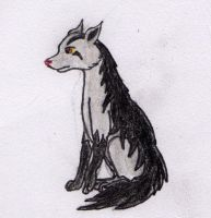Mightyena -- For Credt by FirionRoseII