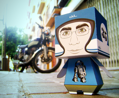 Chacan Paper Toy by craniodsgn