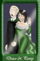 Draco and Pansy at Yule ball by uppuN
