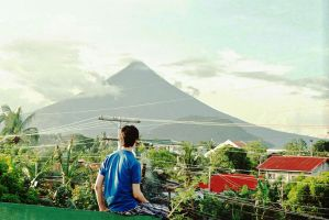 Looking Over Legazpi by WillAustinsArchive