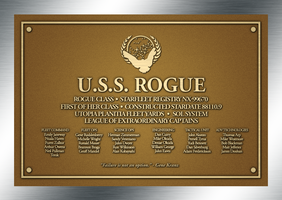 USS Rogue Plaque by kevmascolcha