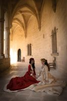 The Red Queen and The White Queen III by SomniumDantis