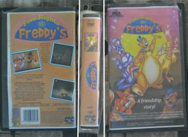 5 Nights at Freddy's VHS Movie Cassette by Debreks