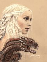 Mother of Dragons... by Artsy50