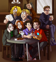 Shawarma Party by kirapop