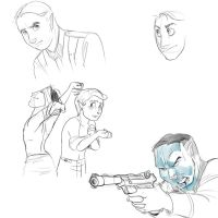 Wehrmacht doodles by Fyuvix