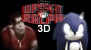 Wreckit Ralph 3D - Wallpaper 1 by I-G-imagination