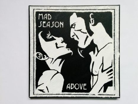 Mad Season - Above cover stencil by prometteu