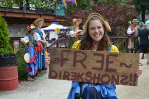 Free Directions RenFaire Girl by PoultryChamp