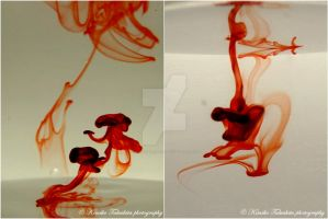 . Paint in Water I . by KimikoTakeshita