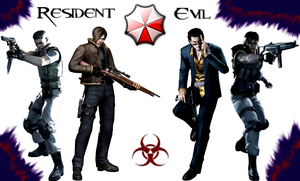 Resident Evil Heroes by ChibiMikhail