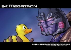 Megatron's Rubber Ducky by DaveTheOriginal
