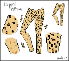 Tutorial: Leopard pattern by Amela-xD
