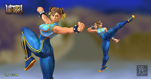 Ultra Street Fighter 4 Chun Li (Alpha/Costume 4) by Sticklove
