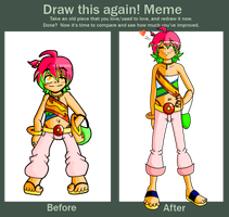 Draw Scout Again :Meme: by JamesmanTheRegenold