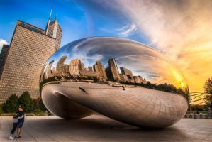 Chicago, The bean hug by alierturk