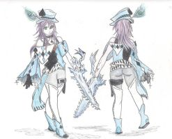 Kyou blue spade outfit by Starboy3027